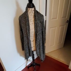 Beautiful black and white marbled Lucky cardigan